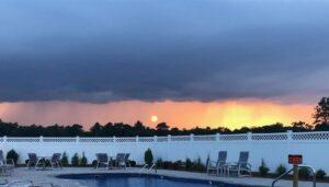 pool sunsetb